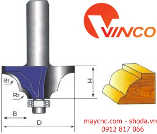 Dao CNC CLASSICAL MOULDING BIT-wood working