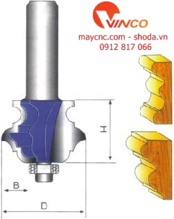 Dao CNC CLASSICAL MULTI-FORM BIT