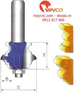Dao CNC CLASSICAL OGEE BIT
