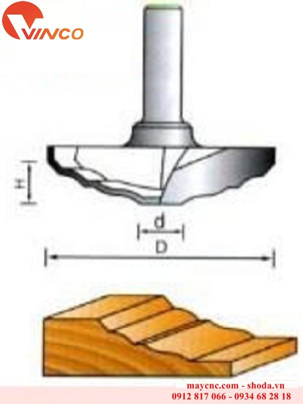 Dao CNC CLASSICAL PLUNGE BIT-LD