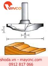 Dao CNC CLASSICAL PLUNGE BIT-W