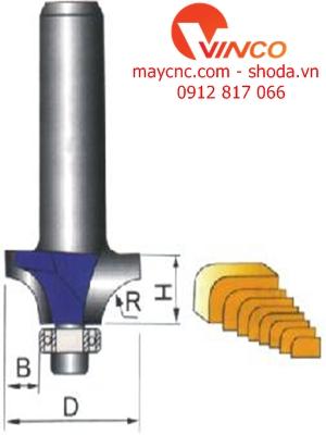 Dao CNC  CORNER ROUND BIT