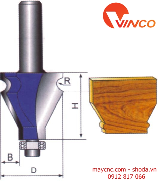 Dao CNC HANDRAIL BIT-wood working tools
