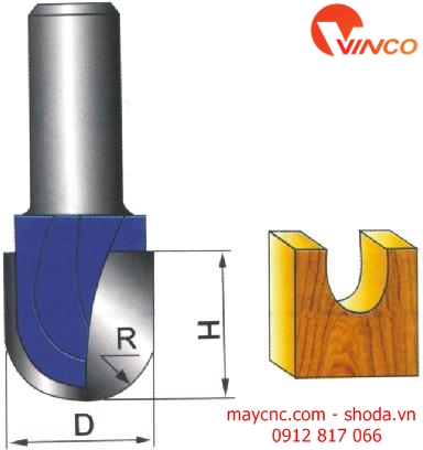 Dao CNC ROUND NOSE BIT