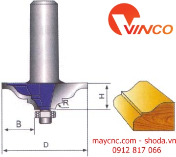 Dao CNC TABLE CORNER BIT