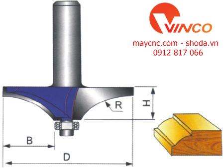 Dao CNC TABLE EDGE BIT