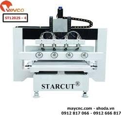 Máy đục tượng gỗ 4 đầu Starcut ST12025 - 4