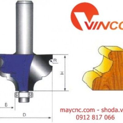 Dao CNC COVE BIT