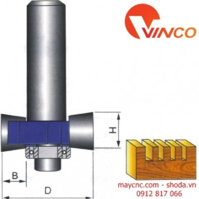 "Dao CNC ""T""GYPE BIT WITH BEARING"