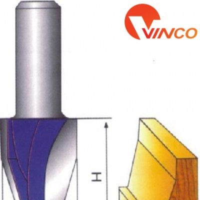 Dao CNC VERTICAL RAISED PANEL BIT-15°