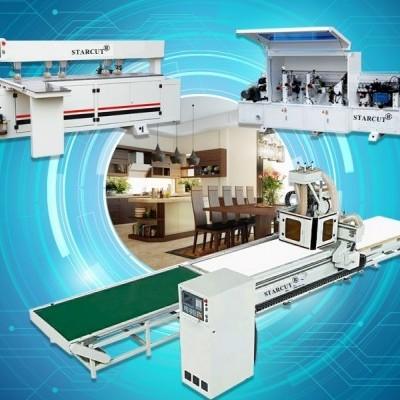 Máy CNC Nesting Gia Công Cửa Tủ Bếp