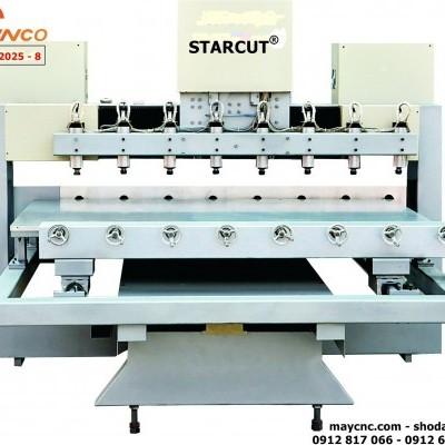 Máy đục tượng gỗ 8 đầu Starcut ST12025 - 8