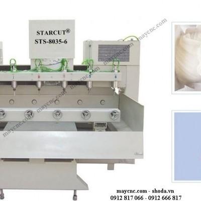 Video hoạt động của máy CNC khắc đá.