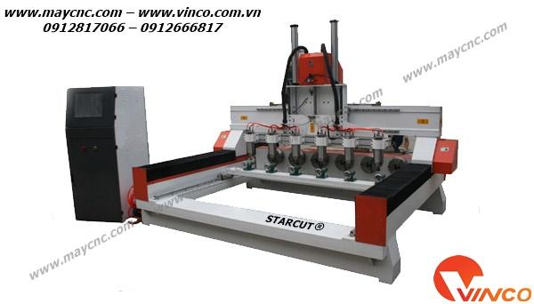 Máy CNC chế biến gỗ